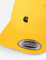 Carhartt-WIP Madison Logo Dad Cap - Sunflower