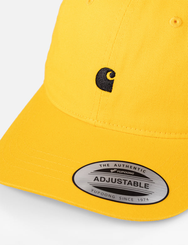 Casquette Carhartt-WIP Madison Logo Dad - Sunflower