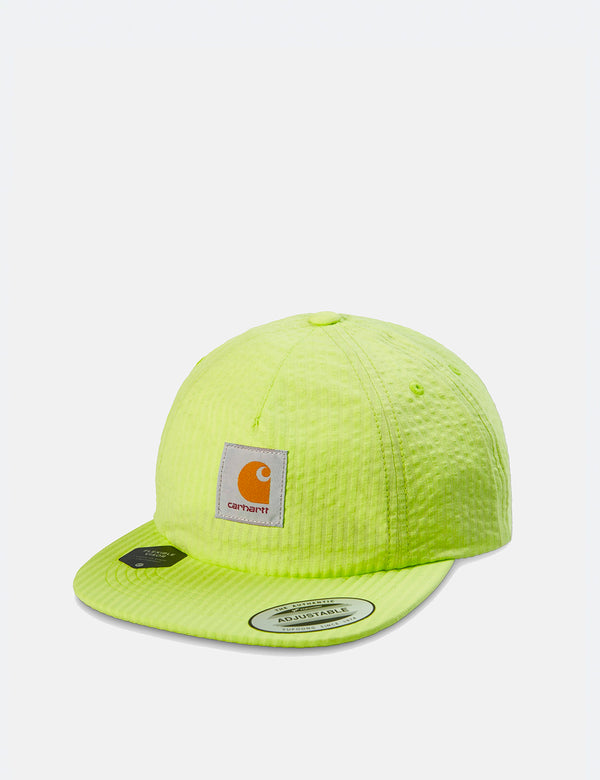 Carhartt-WIP South Cap (Seersucker) - Lime Green