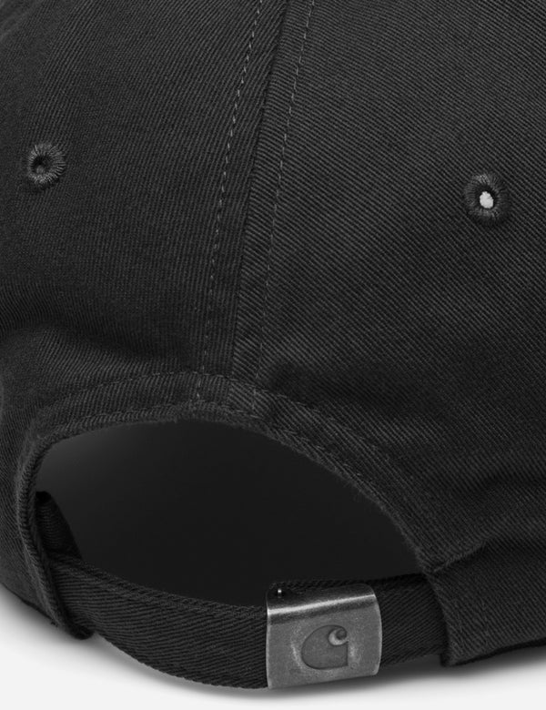 Carhartt-WIP Madison Logo Dad Cap - Black