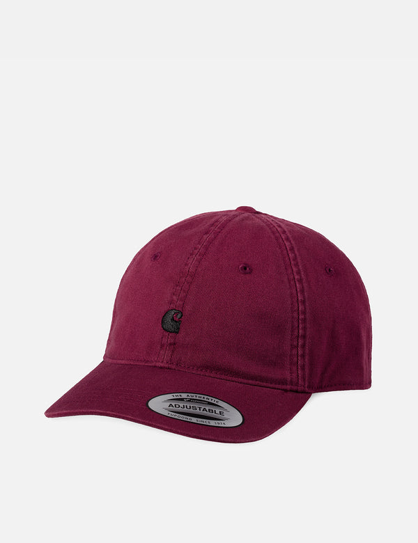 Carhartt-WIP Madison Logo Dad Cap - Shiraz
