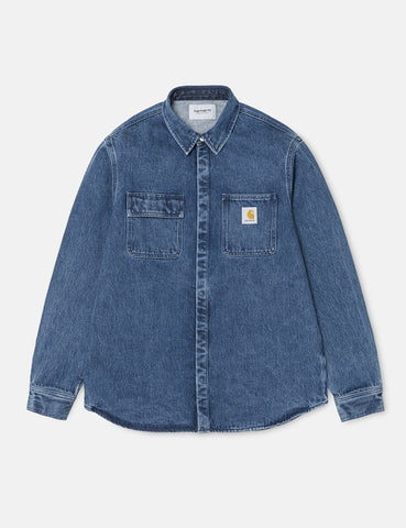 Carhartt Salinac Shirt Jacket - Blue Stone Washed