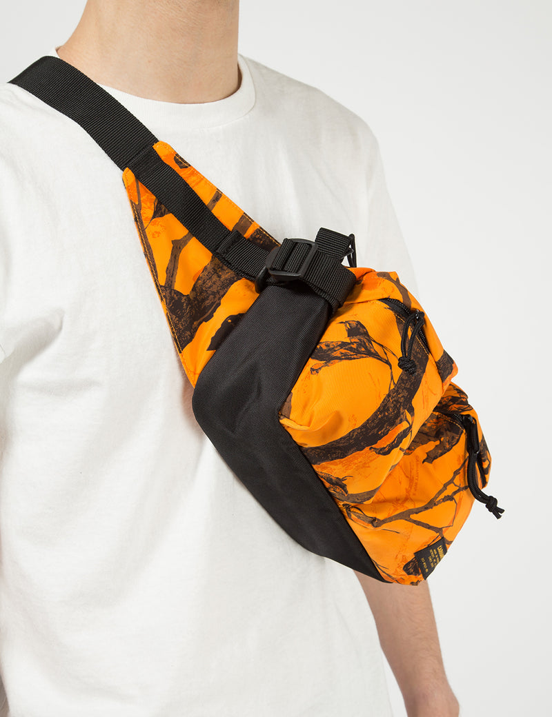 Carhartt-WIP Military Hip Bag - Camo Tree/Orange