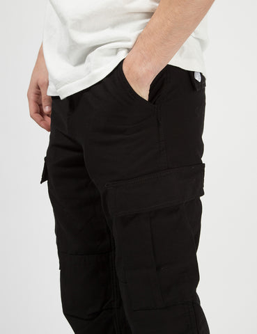 Carhartt-WIP Regular Cargo Pants - Rinsed Black
