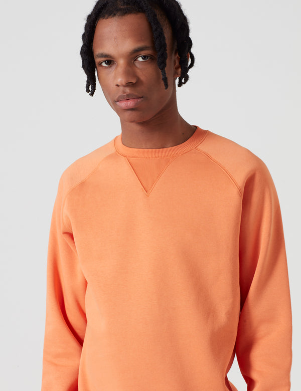 Carhartt-WIP Chase Sweatshirt - Jaffa Orange
