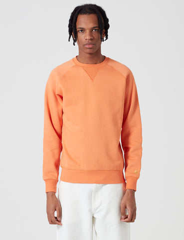 Carhartt Chase Sweatshirt - Jaffa Orange