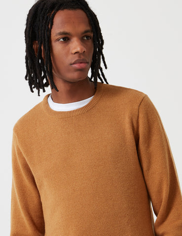 Carhartt Allen Knit Sweatshirt - Fawn Yellow