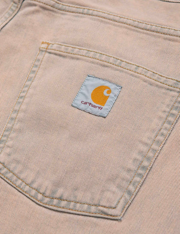 Carhartt-WIP Newel Denim Pant (Relaxed Tapered) - Blue, Sand Bleached