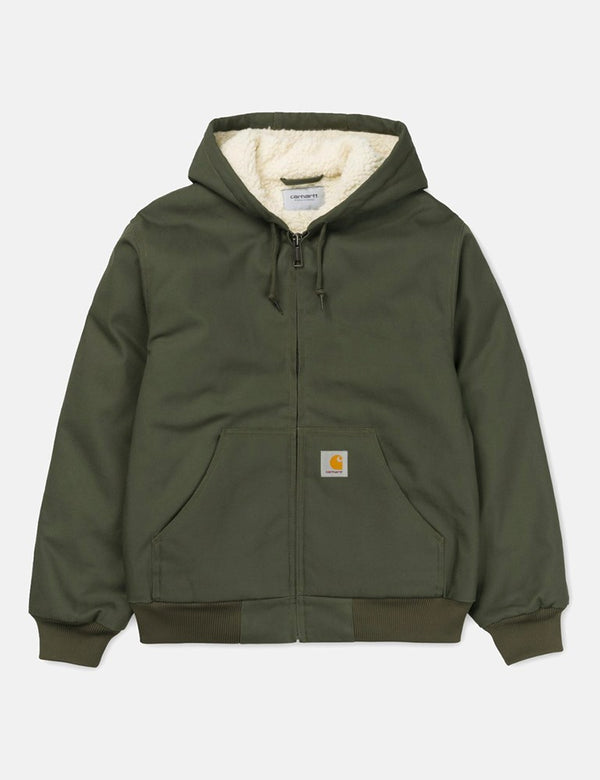 Carhartt-WIP Active Pile Jacket - Cypress Rigid