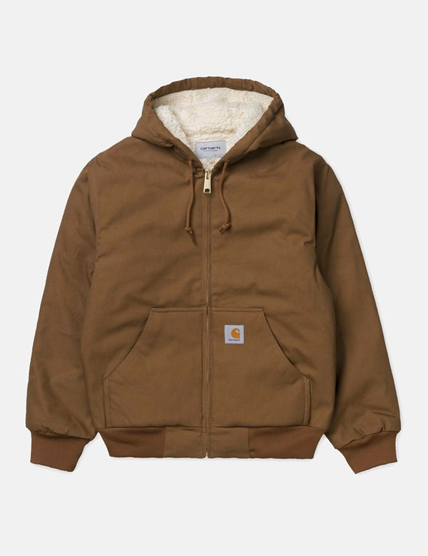 Carhartt-WIP Active Pile Jacket - Hamilton Brown Rigid