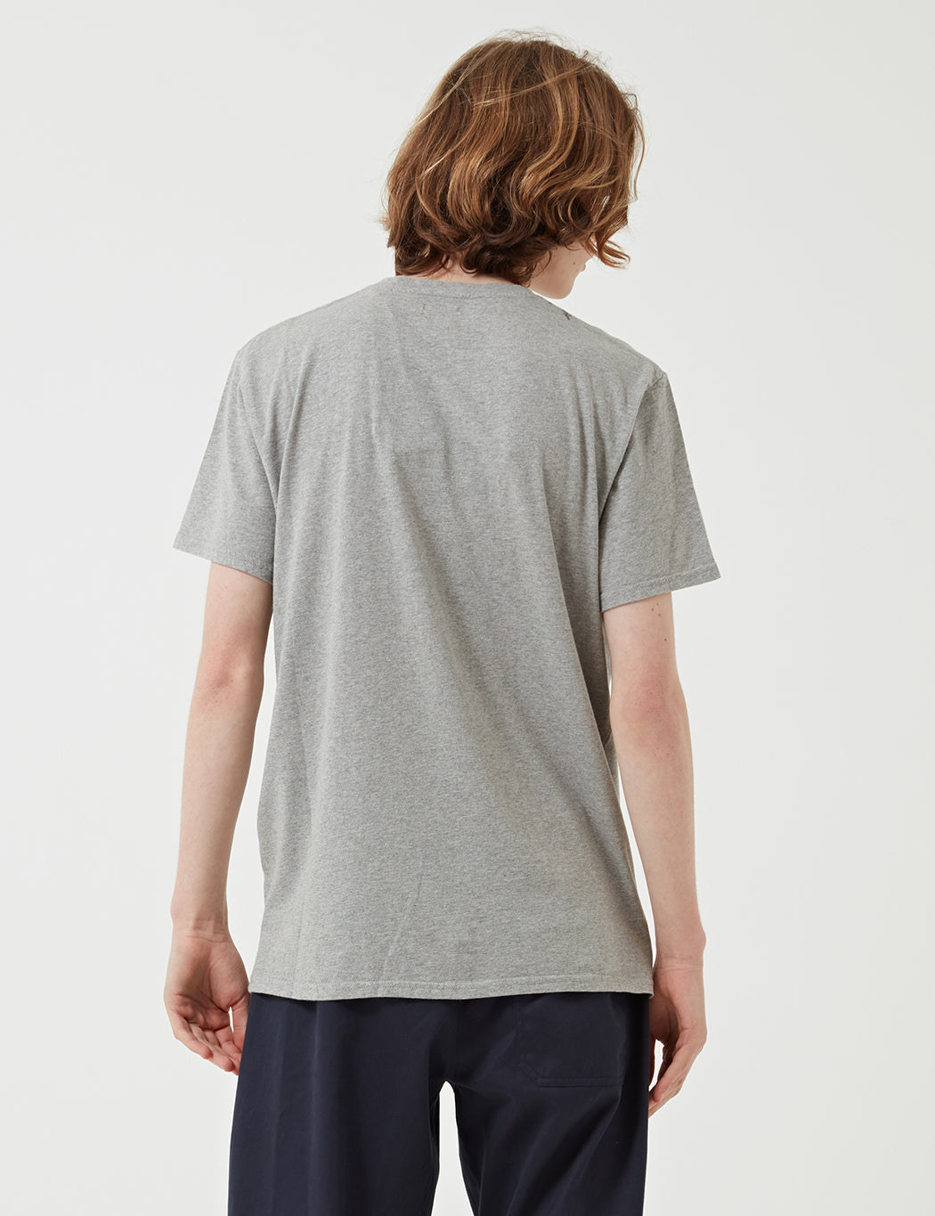 Edwin Pocket Jersey T-Shirt - Grey Marl