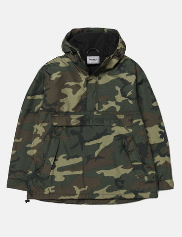 Carhartt Visner Half-Zip Jacket - Camo Laurel Green