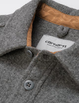 Carhartt-WIP Milner Shirt Jacket - Dark Grey Heather