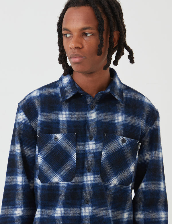 Carhartt-WIP Halleck Shirt - Dark Navy Halleck Check