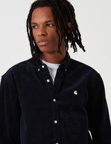 Carhartt-WIP Madison Cord Shirt - Dark Navy Blue/Wax