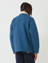 Carhartt-WIP Fairmount Coat - Prussian Blue Rigid