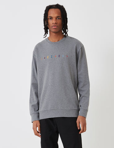 Carhartt Horizontal Sweatshirt - Dark Heather Grey
