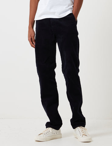 Carhartt Club Pant Trousers (Corduroy) - Dark Navy Blue