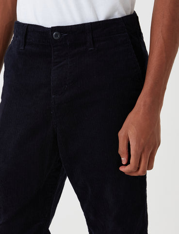 Carhartt-WIP Club Pant Trousers (Corduroy) - Dark Navy Blue