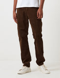 Carhartt-WIP Club Pant Trousers (Corduroy) - Tobacco Brown