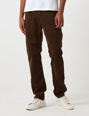 Carhartt Club Pant Trousers (Corduroy) - Tobacco Brown