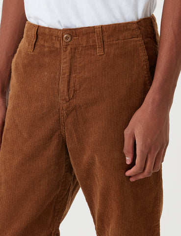 Carhartt-WIP Club Pant Trousers (Corduroy) - Hamilton Brown