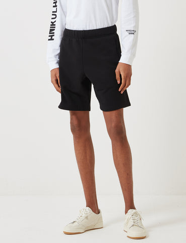 Carhartt-WIP Chase Sweat Shorts - Black