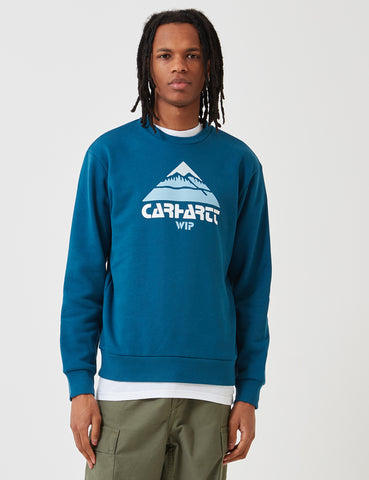 Carhartt Mountain Sweatshirt - Corse Blue