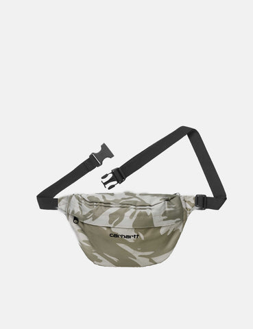 Carhartt-WIP Payton Hip Bag - Camo Brush/Sandshell/Black