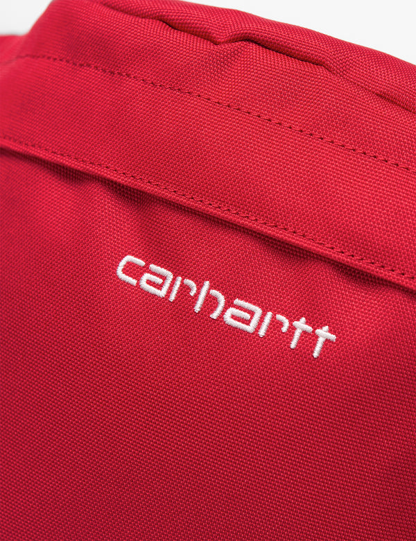 Carhartt-WIP Payton Hip Bag - Etna Red/White
