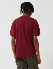 Carhartt Script Embroidery T-Shirt - Mulberry