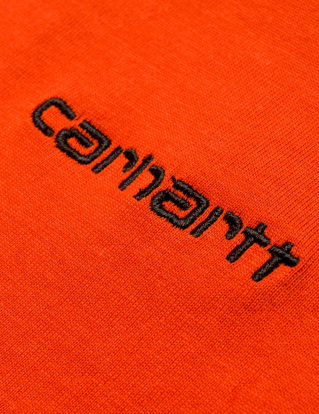 Carhartt Script Embroidery T-Shirt - Persimmo Orange