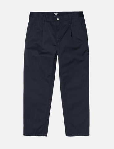 Carhartt-WIP Abbott Pant 'Denison Twill' (Tapered Fit) - Dark Navy Rinsed