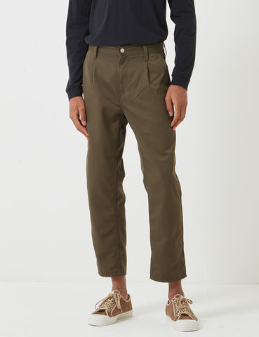 Carhartt-WIP Abbott Pant 'Denison Twill' (Tapered Fit) - Cypress Rinsed