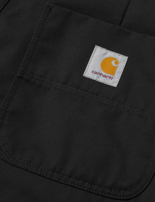 Carhartt-WIP Abbott Pant 'Denison Twill' (Tapered Fit) - Black Rinsed