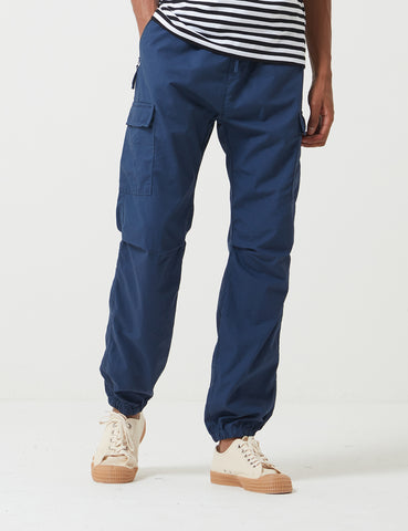 Carhartt-WIP Cargo Jogger Pants (Ripstop) - Blue Rinsed
