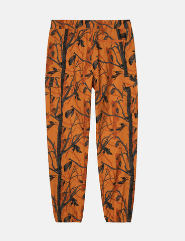 Carhartt-WIP Cargo Jogger Pants (Ripstop) - Camo Tree Orange