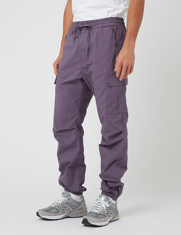 Carhartt-WIP Cargo Jogger Pants (Ripstop) - Provence rinsed