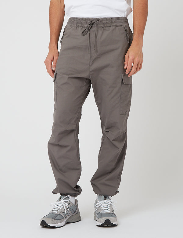 Pantalon Carhartt-WIP Cargo Jogger (Ripstop) - Air Force Grey rinsed