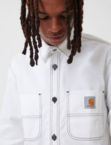 Carhartt-WIP Chalk Shirt Jacket (Regular Fit) - White Rigid