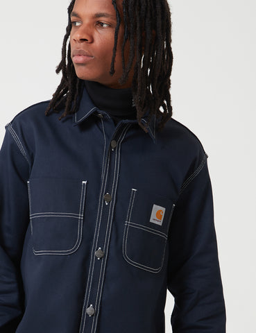 Carhartt-WIP Chalk Shirt Jacket (Regular Fit) - Dark Navy