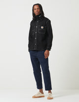 Carhartt-WIP Chalk Shirt Jacket (Regular Fit) - Black Rigid