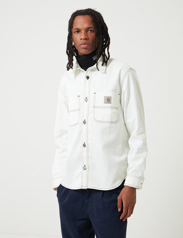 Carhartt Chalk Shirt Jacket (Regular Fit) - Wax Rigid