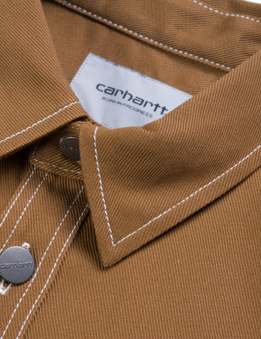 Carhartt Chalk Shirt Jacket (Regular Fit) - Hamilton Brown