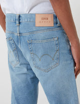 Edwin ED-80 Slim Tapered Jeans - Blue, Arisu Wash