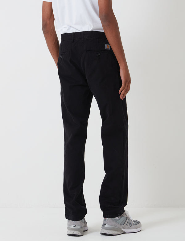 Carhartt-WIP Johnson Pant - Black