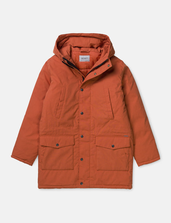 Carhartt-WIP Tropper Parka - Brick Orange