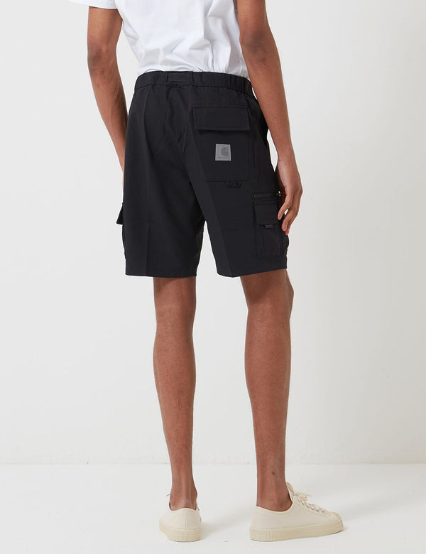 Carhartt-WIP Elmwood Shorts (Mechanical Stretch) - Black