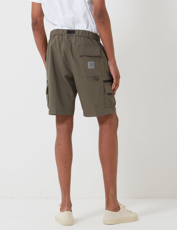 Carhartt-WIP Elmwood Shorts (Mechanical Stretch) - Moor Green