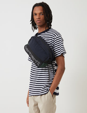 Carhartt-WIP Terrace Hip Bag - Black / Navy / Bottle Green